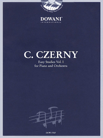 Product Cover for Czerny: Easy Studies – Volume 1 for Piano and Orchestra