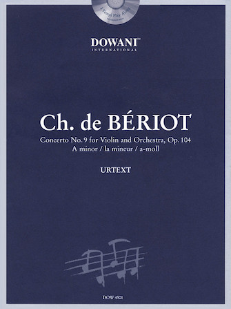 Product Cover for Bériot: Concerto No. 9 for Violin and Orchestra, Op. 104 in A Minor