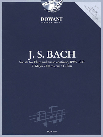 Product Cover for Bach: Sonata for Flute and Basso Continuo in C Major, BWV 1033