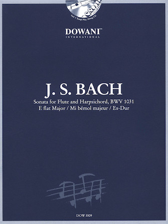 Product Cover for Sonata for Flute and Harpsichord in E-Flat Major, BWV 1031