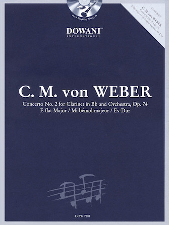 Product Cover for C.M. von Weber – Concerto No. 2, Op. 74 in Eb Major