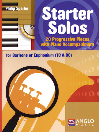 Product Cover for Starter Solos for Baritone or Euphonium (T.C. or B.C.)