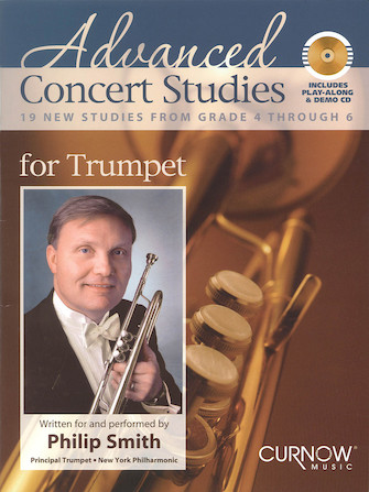 Product Cover for Advanced Concert Studies for Trumpet