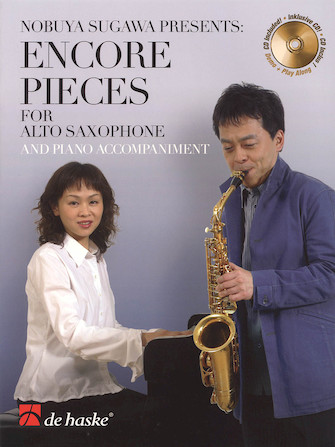Product Cover for Encore Pieces for Alto Saxophone