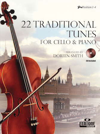 Product Cover for 22 Traditional Tunes for Cello & Piano