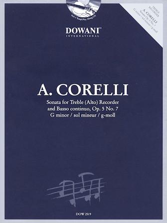 Product Cover for Corelli: Sonata for Treble (Alto) Recorder & Basso Continuo Op. 5, No. 7 G Minor