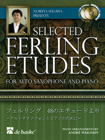 Product Cover for Nobuya Sugawa Presents Selected Ferling Etudes