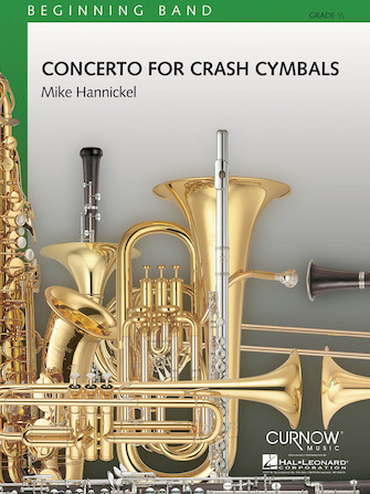 Product Cover for Concerto for Crash Cymbals