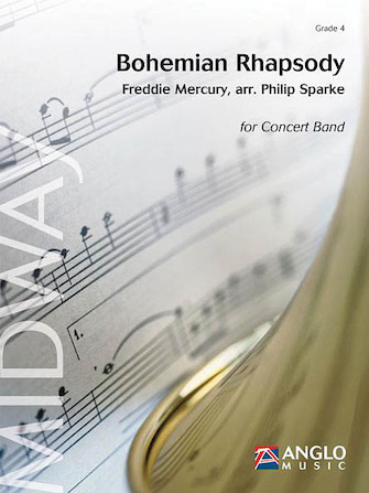 Product Cover for Bohemian Rhapsody Concert Band Score/parts Gr 4