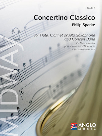Product Cover for Concertino Classico for Flute and Concert Band