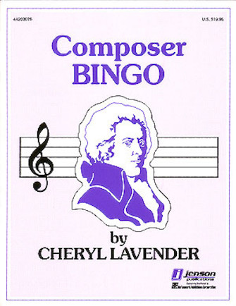 Product Cover for Composer Bingo