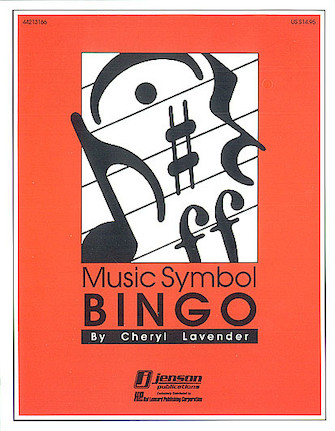 Product Cover for Music Symbol Bingo