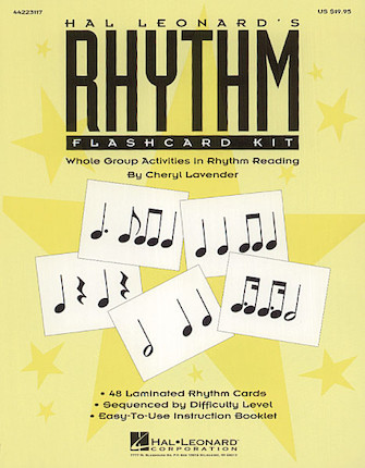 Product Cover for Hal Leonard's Rhythm Flashcard Kit