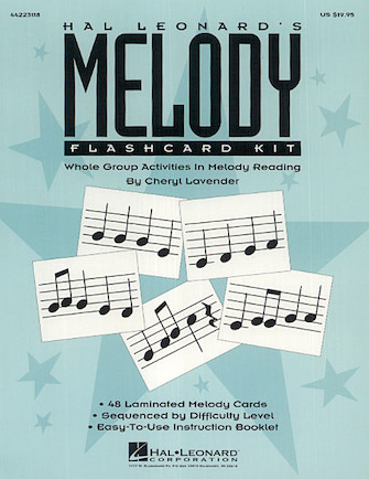 Product Cover for Hal Leonard's Melody Flashcard Kit