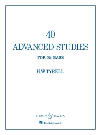 Product Cover for 40 Advanced Studies for Bb Bass/Tuba (B.C.)