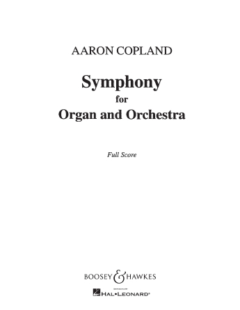 Product Cover for Symphony for Organ and Orchestra