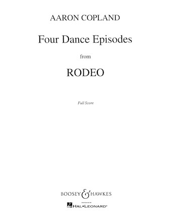Product Cover for Four Dance Episodes from Rodeo