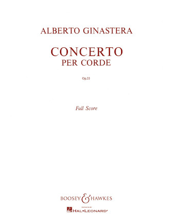 Product Cover for Concerto per Corde, Op. 33