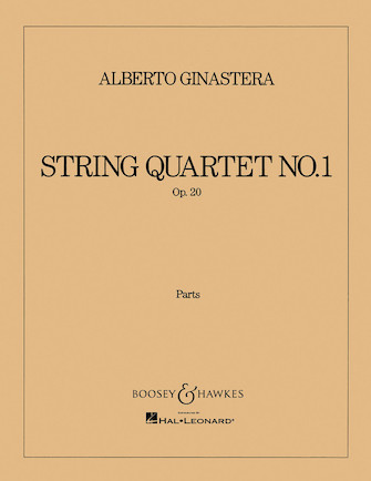 Product Cover for String Quartet No. 1, Op. 20