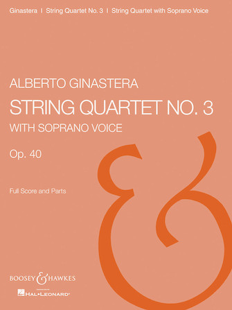Product Cover for String Quartet No. 3, Op. 40