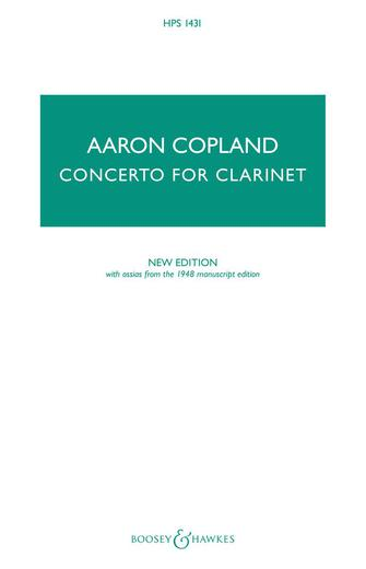 Product Cover for Concerto for Clarinet – New Edition