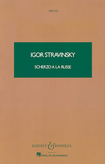 Product Cover for Scherzo a la Russe