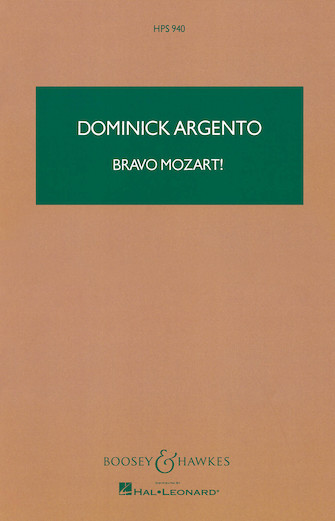 Product Cover for Bravo Mozart!