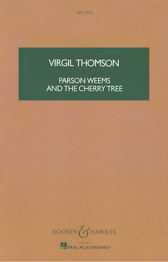 Product Cover for Parson Weems and the Cherry Tree