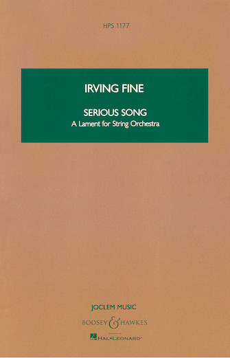 Product Cover for Serious Song