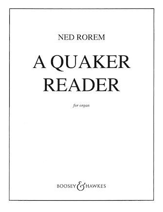 Product Cover for A Quaker Reader