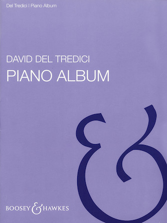 Product Cover for David Del Tredici – Piano Album