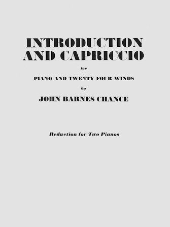 Product Cover for Introduction and Capriccio