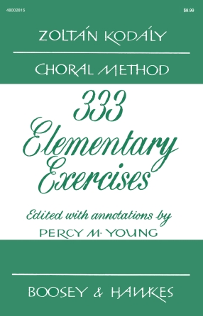 Product Cover for 333 Elementary Exercises in Sight Singing