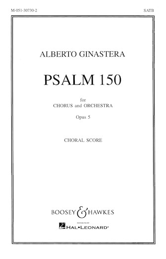 Product Cover for Psalm 150, Op. 5