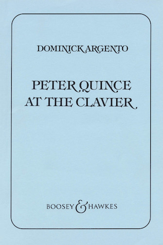 Product Cover for Peter Quince at the Clavier