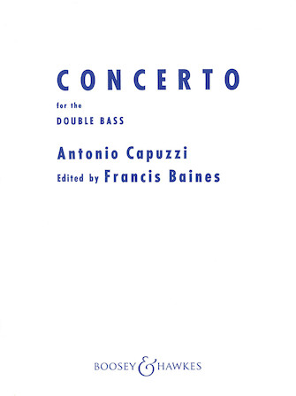 Product Cover for Double Bass Concerto in F
