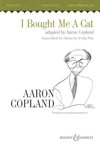 I Bought Me a Cat : TBB : Irving Fine : Aaron Copland : Sheet Music : 48003228 : 073999740578