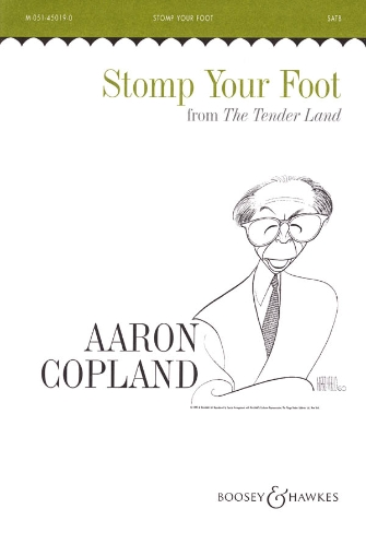 Stomp Your Foot : TTBB : Aaron Copland : Aaron Copland : Sheet Music : 48003318 : 073999456103