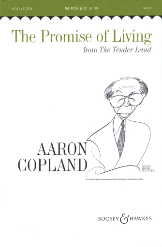 The Promise of Living : SATBB : Aaron Copland : Aaron Copland : Sheet Music : 48003284 : 073999862232