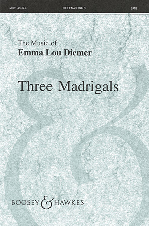 Product Cover for Three Madrigals