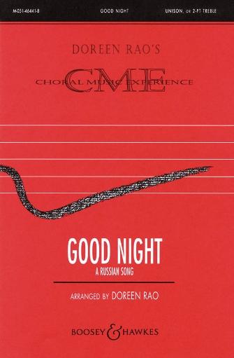 Good Night (A Russian Song) : 2-Part : Doreen Rao : Dmitri Kabalevsky : Sheet Music : 48004214 : 073999975796