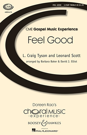 Feel Good : SSA : David Elliott : Sheet Music : 48004470 : 073999328486