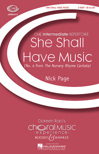 She Shall Have Music : 2-Part : Nick Page : Sheet Music : 48004513 : 073999147483