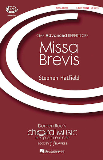 Missa Brevis : SSA : Stephen Hatfield : Sheet Music : 48004530 : 073999230031
