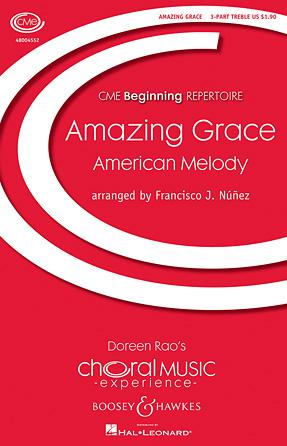 Amazing Grace : SSA : Francisco J. Nunez : John Newton : Sheet Music : 48004552 : 073999671520