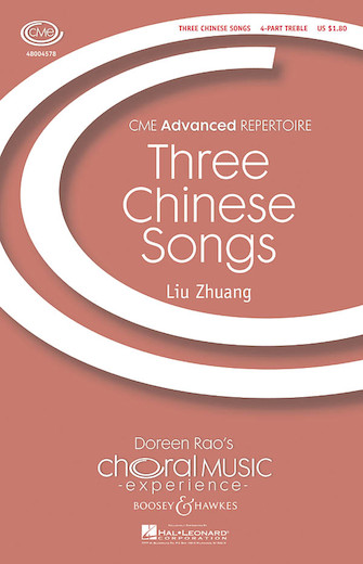 Product Cover for Three Chinese Songs