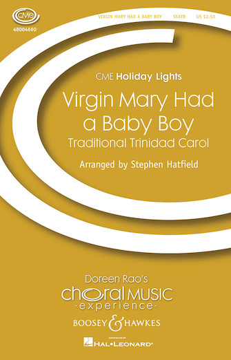 The Virgin Mary Had A Baby Boy : SSATB : Stephen Hatfield : Sheet Music : 48004660 : 073999196313