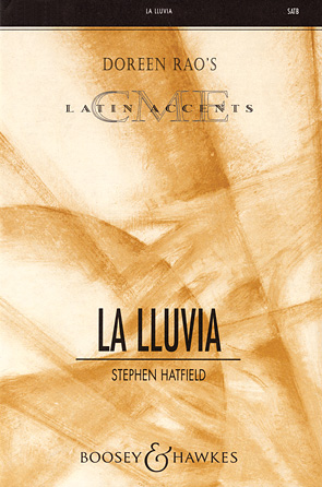 La Lluvia : SATB : Stephen Hatfield : Sheet Music : 48004687 : 073999633573