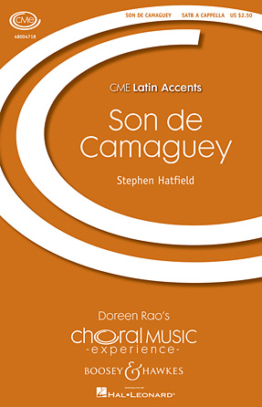 Son de Camaguey : SATB : Stephen Hatfield : Sheet Music : 48004718 : 073999718065