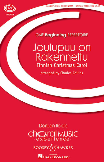 Joulupuu on Rakennetu : SATB : Charles Collins : Sheet Music : 48004725 : 073999318951